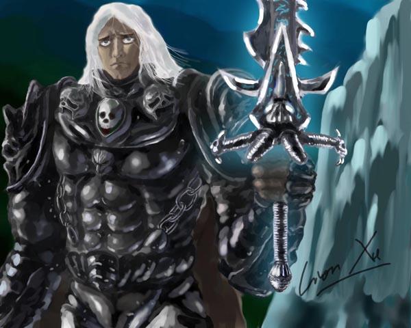漫画壁纸-[手绘]死亡骑士