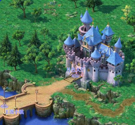 游戏地图--睡美人城堡