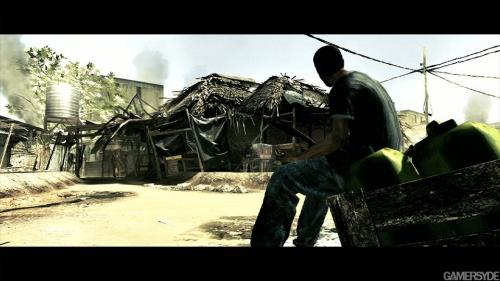 恐怖名作《生化危机5》游戏新截图
