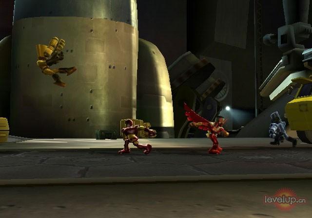 绿巨人游戏下载视频_《漫画英雄 超级英雄小队》Wii/PS2版游戏画面 17173单机游戏频道 ...