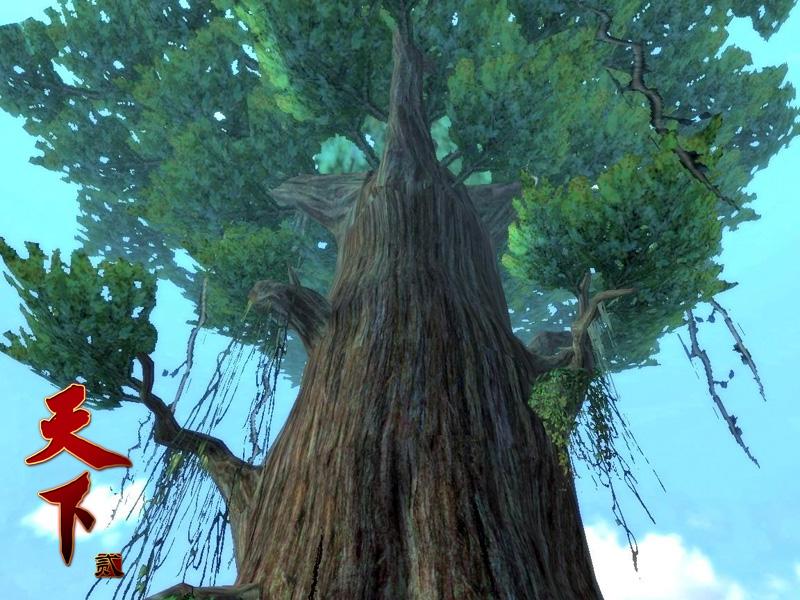 建木就是这样一棵通天的树了,相传沿建木向上能分别到达昆仑西王母