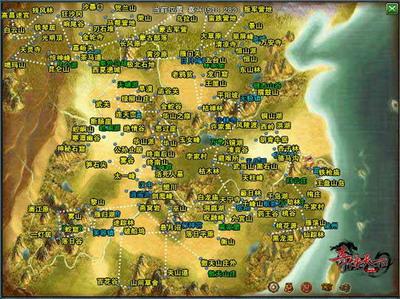 游戏以金木水火土五行为基础,打造了五个相生相克的武功修炼方向