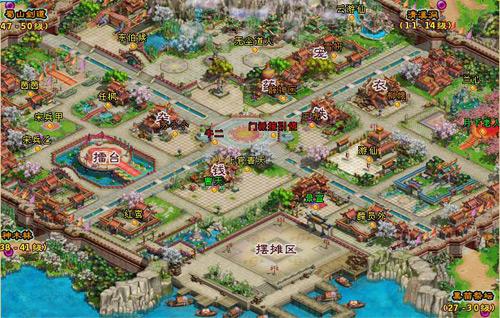 大话仙剑游戏资料:等级地图图片