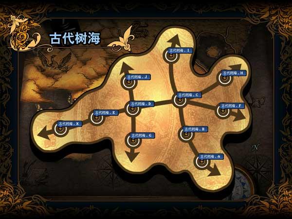 青木原树海地图