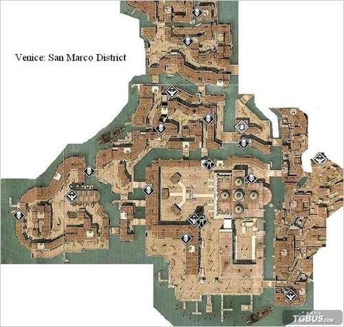 光环3致远星攻略_《刺客信条2》5大城市全羽毛和隐藏要素地图 _17173单机站