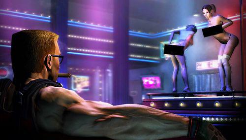 脱衣舞网站_《永远的毁灭公爵》脱衣舞画面释出