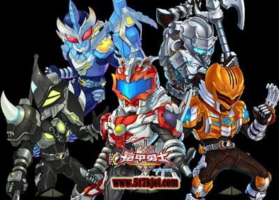 超炫的战斗系统场面,酷炫的铠甲勇士变身装等都是游戏中的亮点哦!