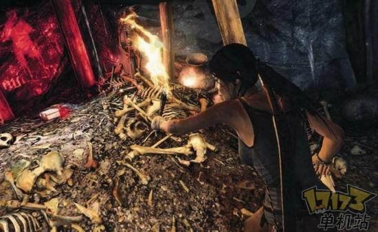 劳拉荒岛求生《古墓丽影》最新画面