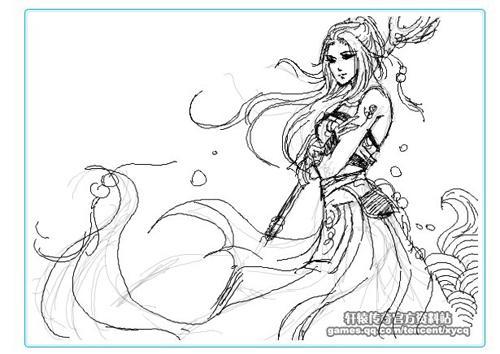 轩辕传奇; 创意无极限——轩辕传奇趣味涂鸦; 女天使恶魔翅膀图片