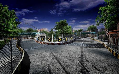《自在飞车》新地图介绍:罗马街道_网络游戏新闻_.com