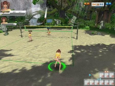 的沙滩城市之外,赛场上独一无二的技能和效果更是让沙滩排球高清图片