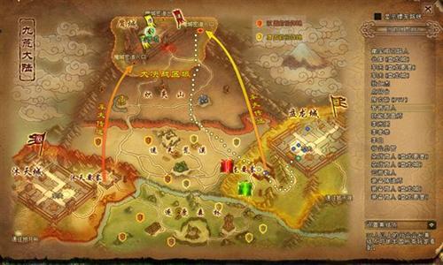 游戏内地图