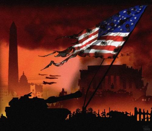 美国十次日加_星条旗坠落-侵略美国的游戏幻想与现实(上)