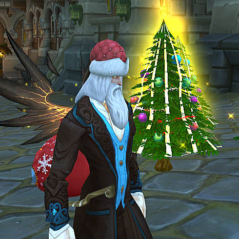 <font color=red>还在留恋魔兽世界?看巫师之怒的圣诞节!</font>