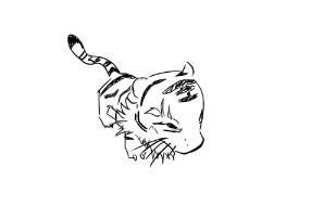 天龙八部ol新手_简笔画手绘涂鸦天龙八部各种珍兽BB_天龙八部ol_17173天龙八部ol ...