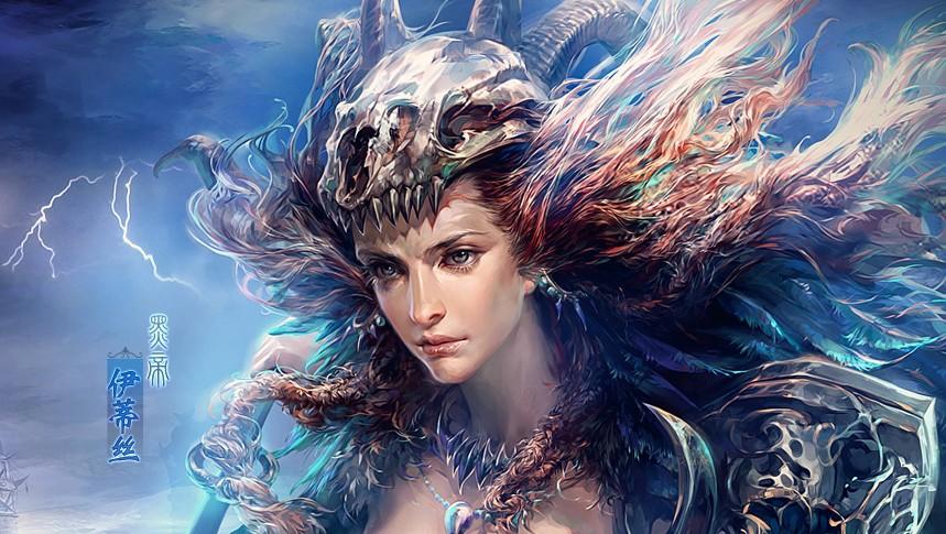 《完美国际·王朝崛起》黑帝伊蒂丝超清壁纸图片