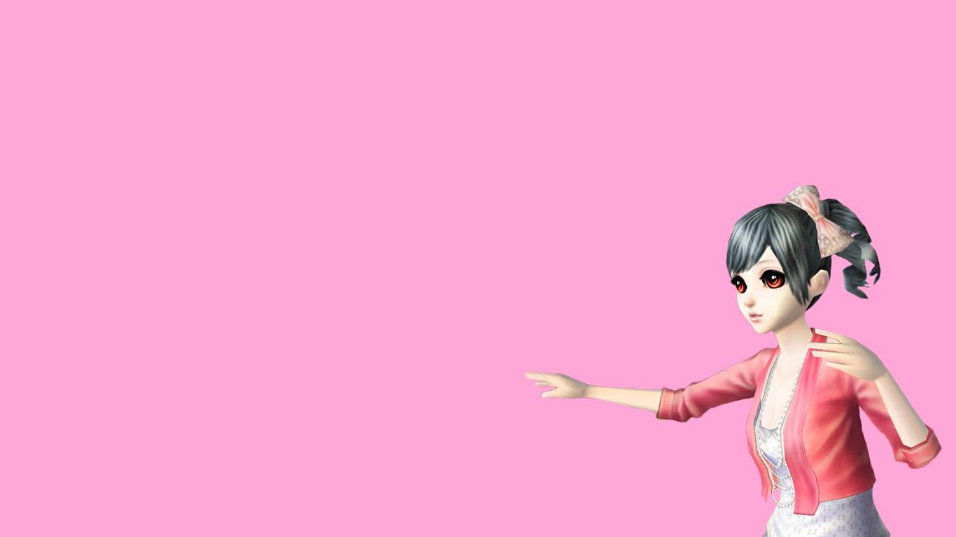 墨白原创炫舞人物高清壁纸女生系列2