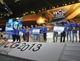 WCG2013中国区总决赛CF颁奖仪式图集