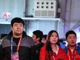 WCG2013穿越火线倾城.QQ会员赛前队员