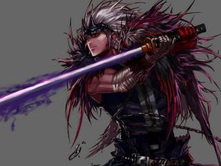 dnf鬼剑士帅图 dnf红眼壁纸 dnf天空套10鬼剑士