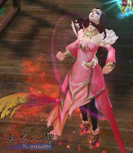 囧图:玩家调侃唯美版天龙八部游戏人物动作