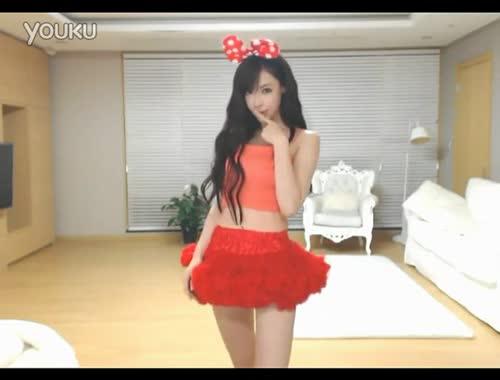 魔法蕾丝装可爱清纯性感韩国美女主播诱惑热舞-韩国美女 焦点内容