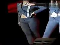 美女性感热舞 韩国性感紧身牛仔裤