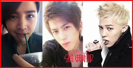 高富/上图呢是青青在网络上搜索到的几个帅哥的照片呢,在现实生活中...