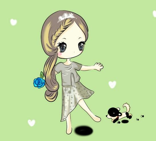 qq炫舞超可爱人物娃娃,天然呆自然萌