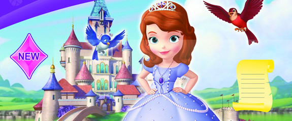 >索菲亚小游戏  迪士尼动画《小公主索菲亚》在美国