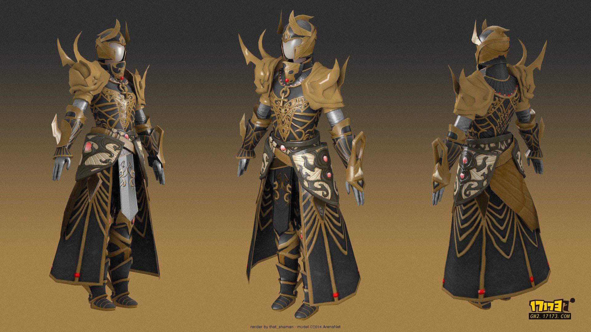 游戏盔甲设计图