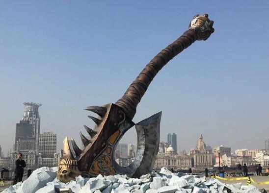 地狱咆哮的怒吼 巨型血吼已经空降上海