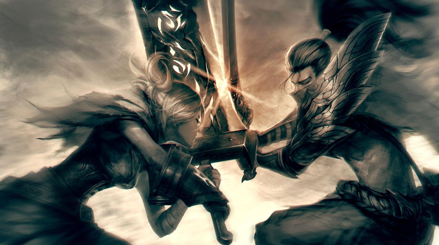 玩家精美作品 疾风剑豪与放逐之刃的世纪之战