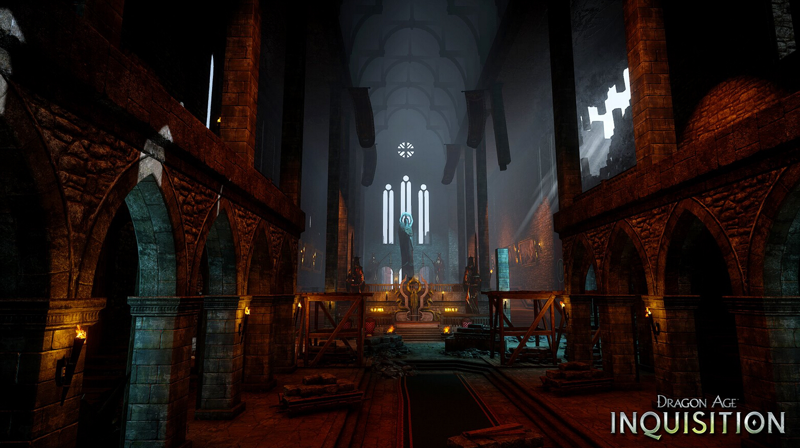 《龙腾世纪:审判》幽暗古堡场景截图公布