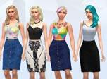 《模拟人生4》MOD  多套时尚女装MOD