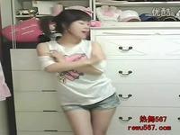 韩国美女热舞自备纸巾