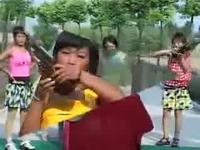安徽民间小调美女唢呐说唱 游戏视频