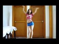 国产美女大白美腿性感热舞 游戏视频