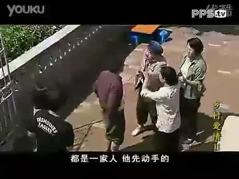 乡村爱情赵四打架视频
