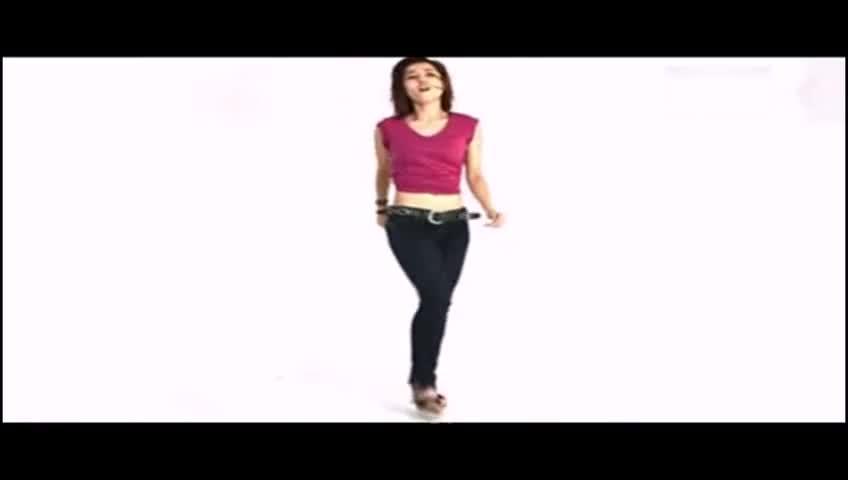 性感紧身牛仔裤美女 大秀性感爵士 游戏视频