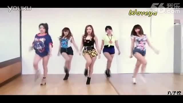 适合女生的舞蹈twinkle韩国可爱舞蹈木分解教学视频