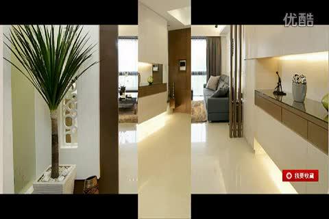 热点直击 大气玄关设计 现代简约风三室两厅装修效果图-游戏视频
