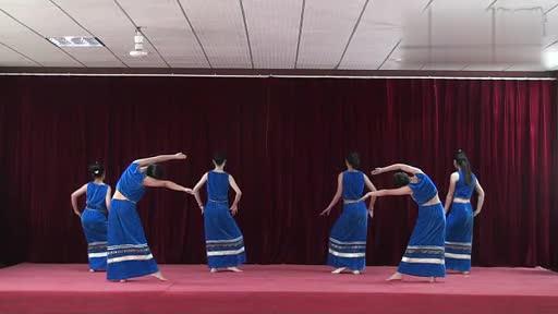 傣族舞蹈 月亮-傣族舞