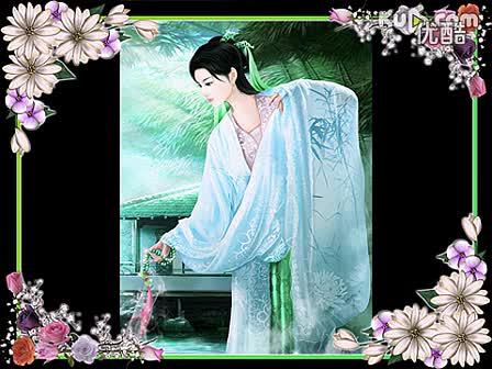 优酷04:15 古典 手绘美女 ps绘图, 手绘美女全过程 1717304:15 精彩