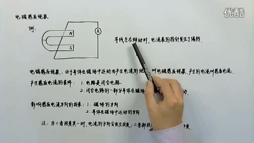 九年级物理-电与磁-磁生电-原创 推荐视频