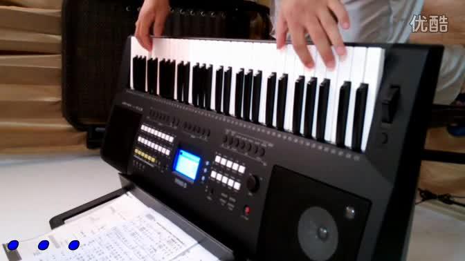 电子琴演奏红尘情歌展示图片