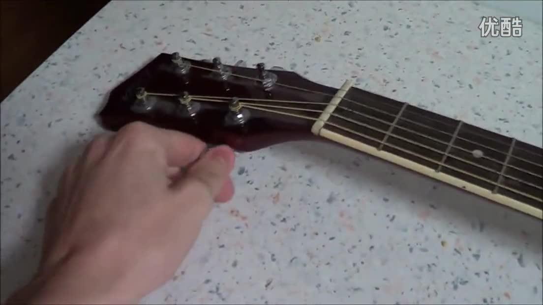 筷子手工吉他步骤