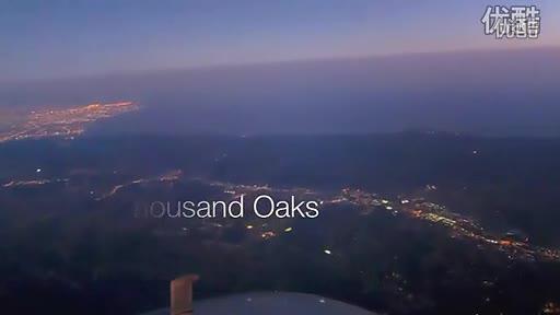 [有字幕]降落洛杉矶机场(飞机驾驶舱镜头)