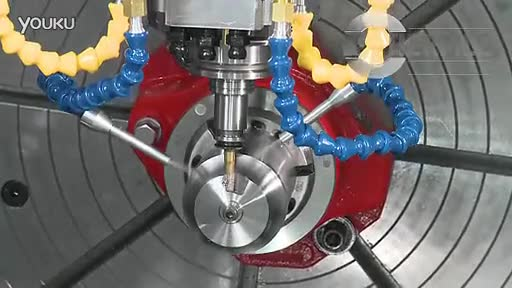 hermle德国哈默c30u五轴加工中心-钛合金叶轮图片