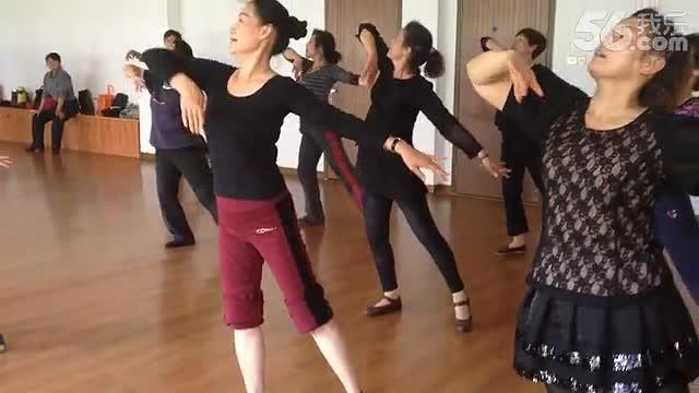 山东理工大学音乐学院形体舞蹈教学视频--民舞组合